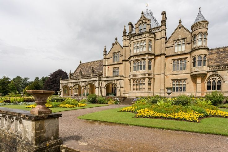 gothic revival house tyntesfield house victorian gothic revival