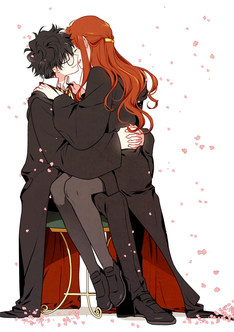 Image result for anime harry potter Harry potter anime