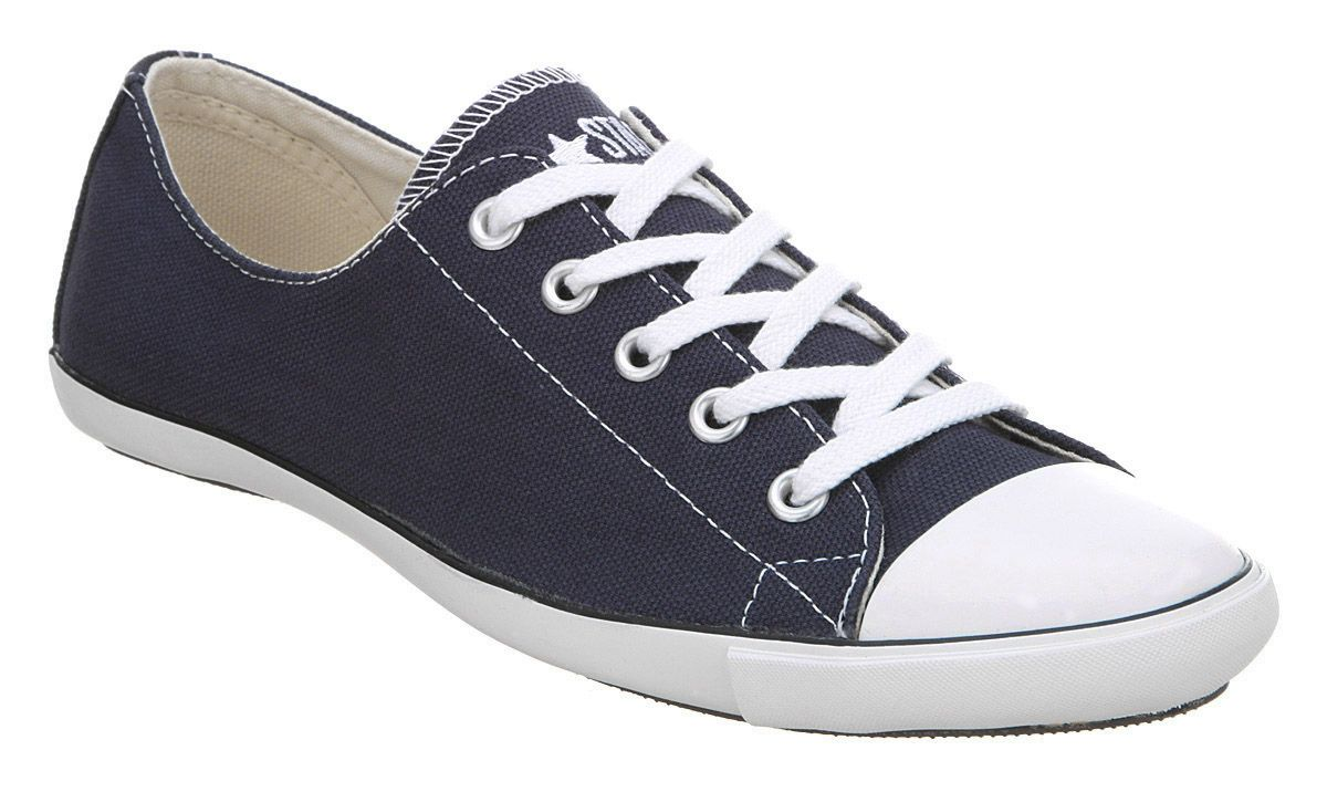 Converse Ct Lite Ox Navy White Shoes Trainers Office 42 99