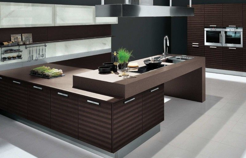 Brown Kitchen Interior Design  Kitchen Decoration  #di #cocinas Pleasing Kitchen Interior Design Ideas Design Decoration