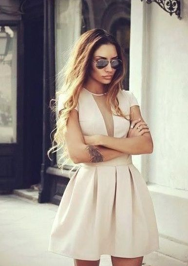 Dress and hair <3