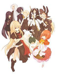 Photo of okami-san and her seven companions | OKAMI SAN AND HER SEVEN COMPANIONS
