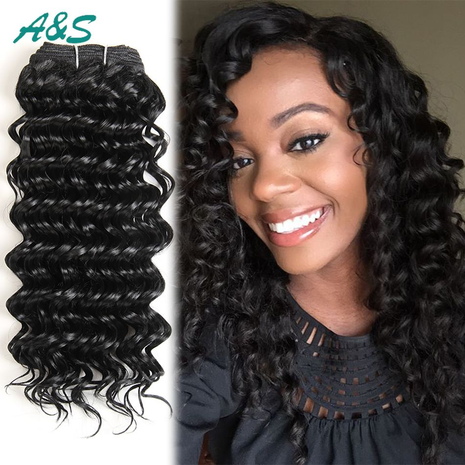 Find More Hair Weaves Information About 1b Deep Wave Synthetic Hair