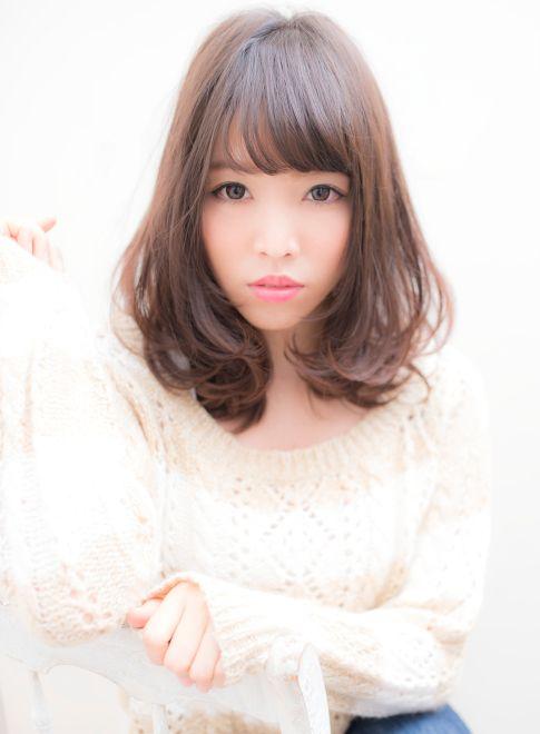 リュドール栄 エアリーカールボブby小池 【Rue D'or 栄】 http://beautynavi.woman.excite.co.jp/salon/27744?pint ≪ #mediumhair #mediumstyle #mediumhairstyle #hairstyle・ミディアム・ヘアスタイル・髪形・髪型≫