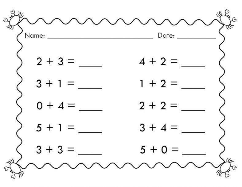 Printable Math Worksheets For Grade 1 Australia Easy Math Worksheets Kindergarten Math Worksheets Math Worksheets