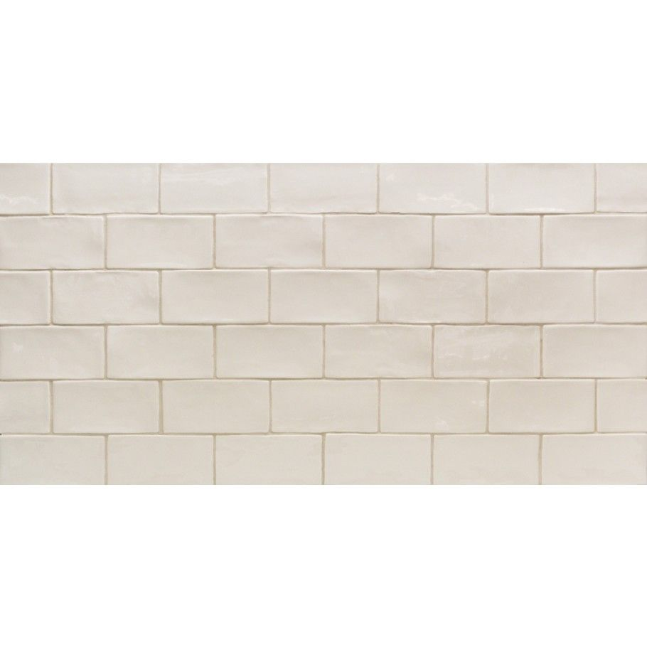 Lancaster Vanilla 3x6 Polished Ceramic Tile Kitchen Backsplash Backsplash Crackle Tile Backsplash