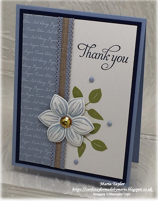 Cards Taylor Made by Maria: Floral Essence meets 2019/21 In Colors! #flowercards