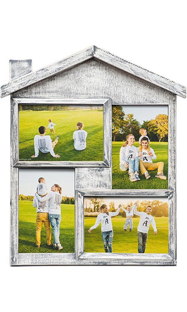 Picture Frame Collage Solid Wood Photo Collage Frame - Large Size ...