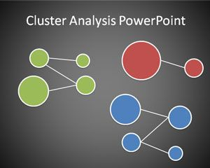 cluster analysis powerpoint template is a free business
