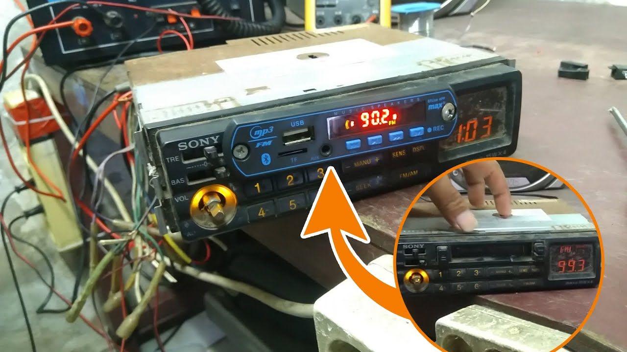 Merubah Tape Mobil Jadul Ke Usb Mp3 Ganti Kaset Tape Dengan Usb Bluetooth Usb Bluetooth Cola