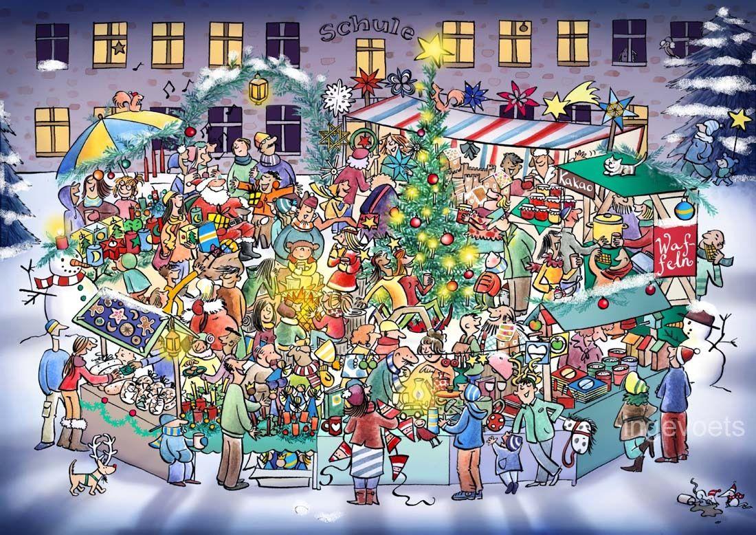 Describing Christmas Winter Worksheets