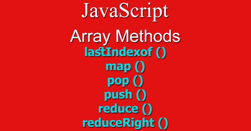 Javascript lastindexof
