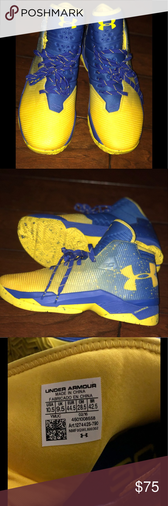 sale retailer ad872 0d4e2 NWOB Under Armour Size 10 1/2 Curry Basketball NWOB Under ...