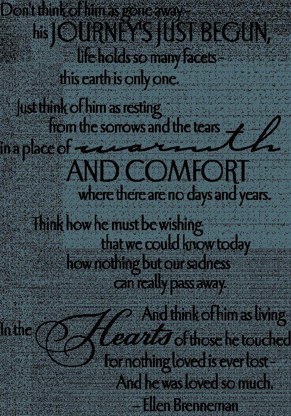 #griefquotes #brenneman #journey #funeral #grandad #quotes ...