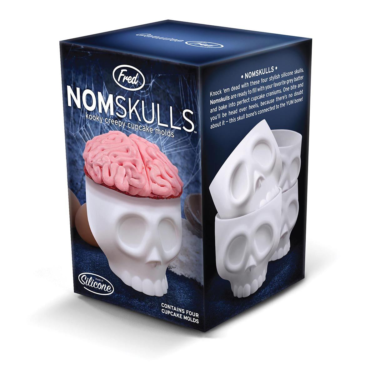 Get Your Kids Into The Kitchen With These Spooky Skeletal Bake Moulds. Fred  Nomskulls Is The Perfect Companion When Baking For Childrenu0027s Parties.