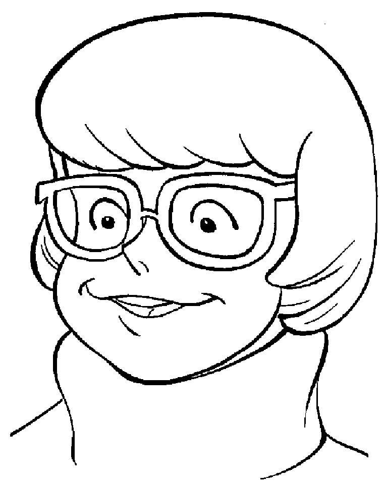 Scooby Doo Clip Art | scooby doo friend velma coloring pages disney ...