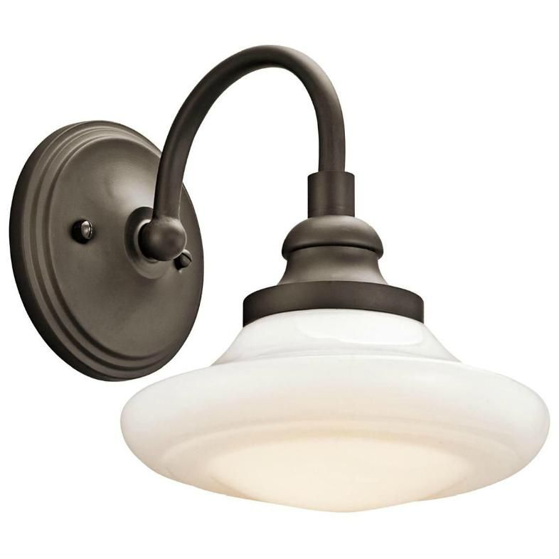 Keller Wall Sconce Available In Brushed Nickel Polished Nickel Or