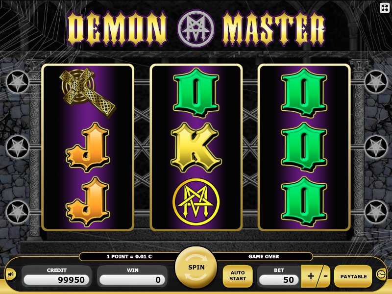 Playing Demon Master online casino slot is exciting and fun as you will  meet the Dracula and the Vampirella in the process. Kajot does not offer  great nove