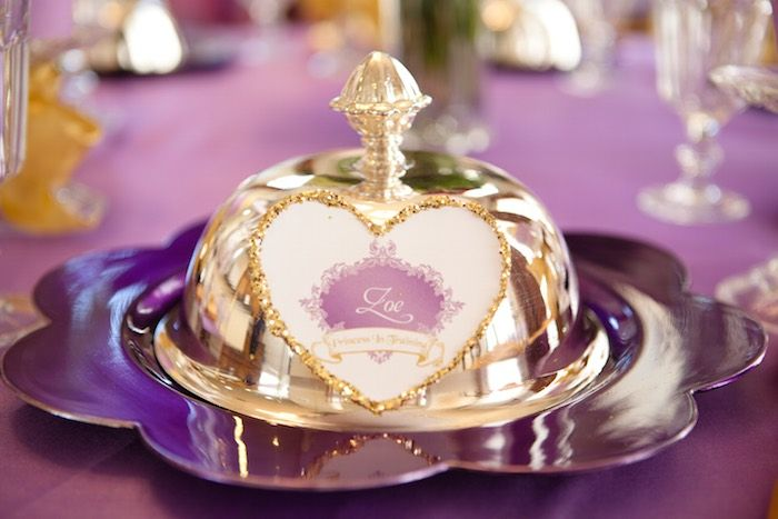 Sofia the First ⚜ place setting