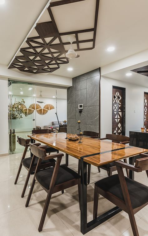 Advaitam - Pavan Infratech | Dining room design, Dining ...