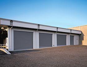 Rolling Steel Doors Series 610 Overhead Garage Door Garage Doors Rolling Steel Doors