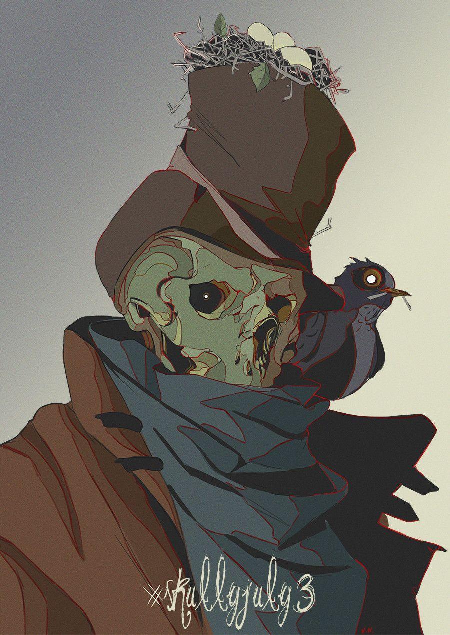 #skullyjuly3 , Niсk Noskovsky on ArtStation at https://www.artstation.com/artwork/r2zlE