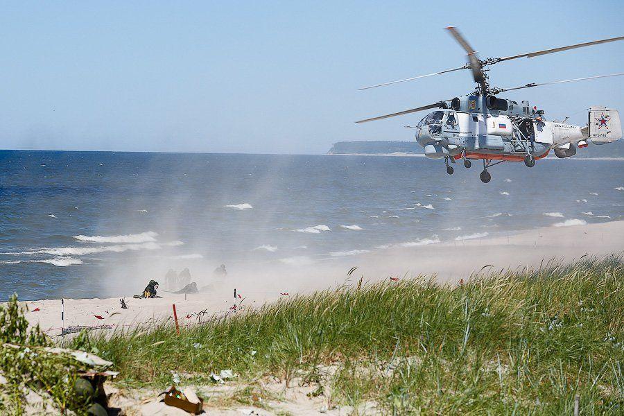 Orosz katonák partraszállása
