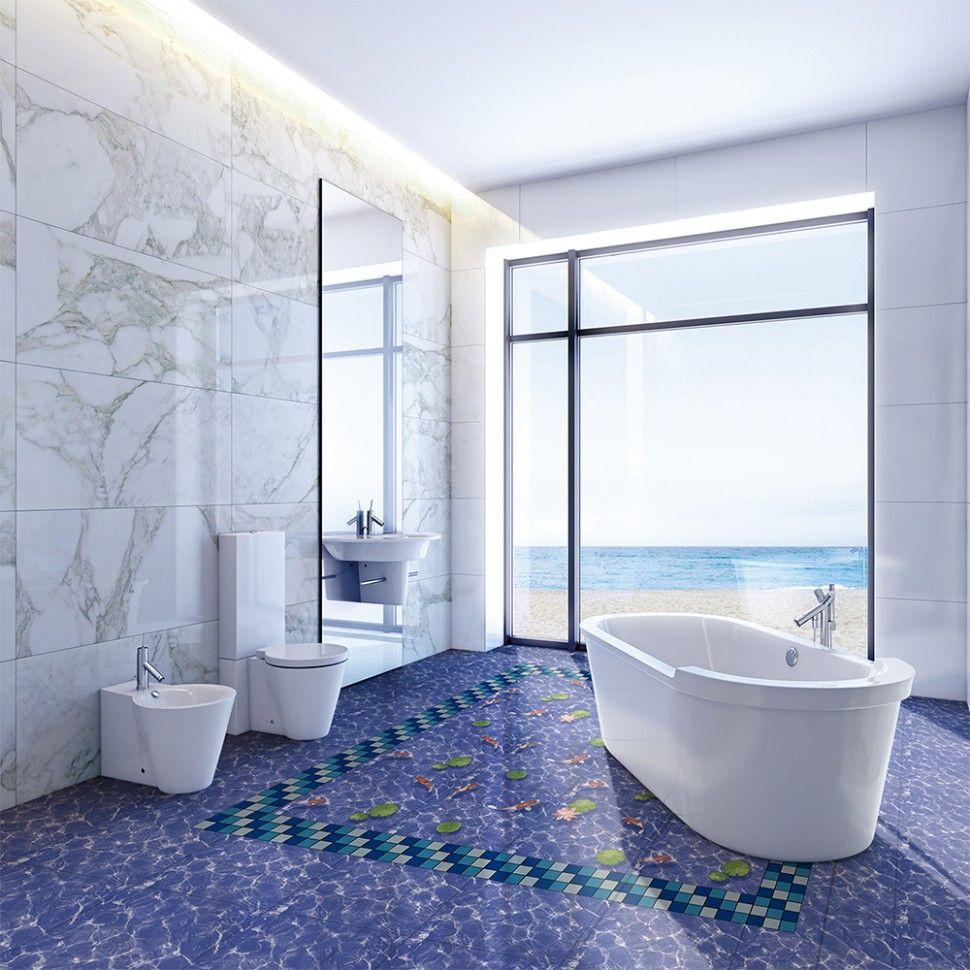 8d Floor Design For Bathroom Blue Bathroom Blue Bathroom Tile Floor Design Bathroom floor color inspiration