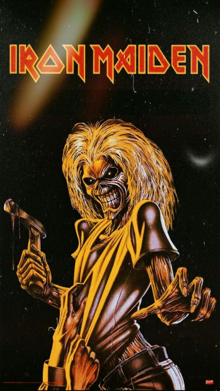 Iron Maiden Wallpaper Pôsteres de rock, Fullhd