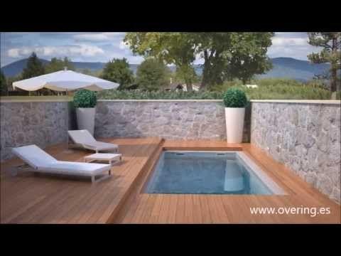 Cubierta de piscina transitable totalmente automática. - YouTube