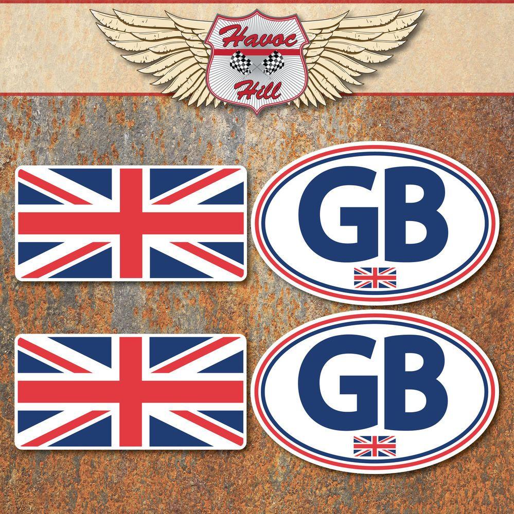 GB+Union+Jack+Sticker+Set+Small+Car+Van+Truck+Motorbike+Scooter+Vespa+Decals
