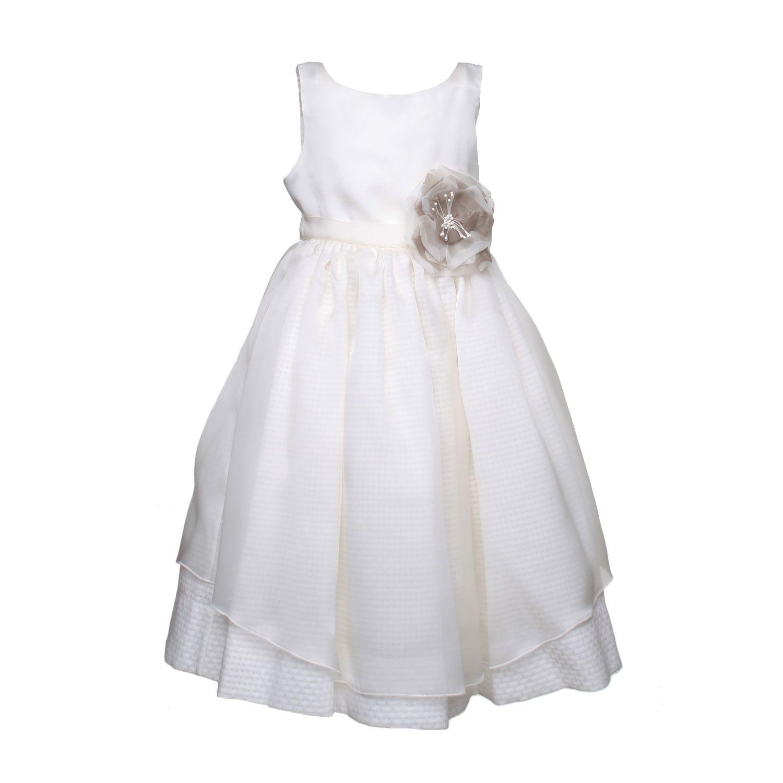 87335d9e8b43 La Stupenderia - Abito Seta Bianco - annameglio.com shop online - Abito da  cerimonia