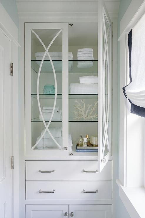 Like A Storage Cabinet For Master Like Glass Doors And