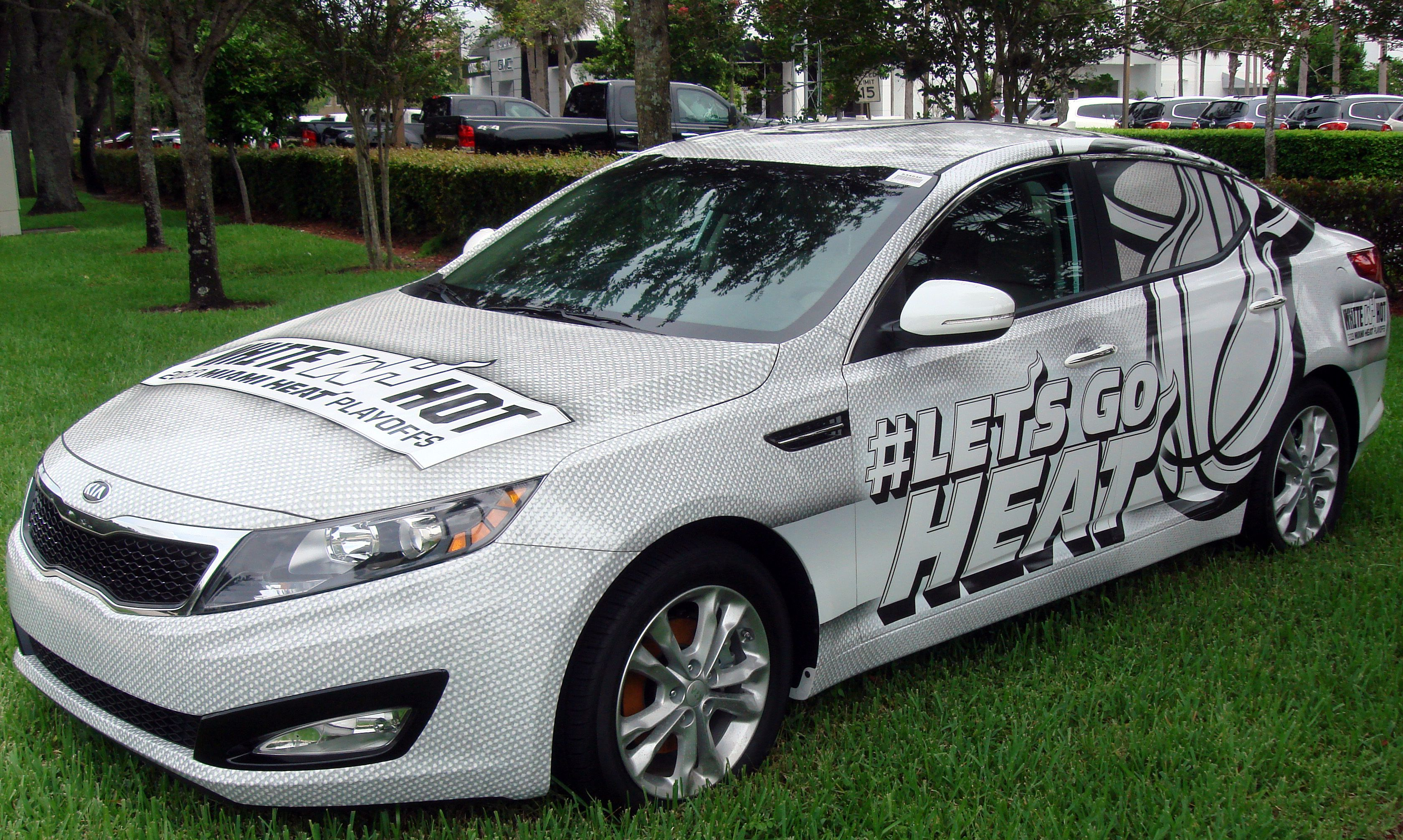 From Http Www Carbuyingtips Com Here Is The Miami Heat Car A New