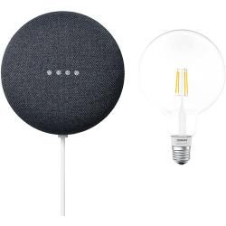 Google Nest Mini & Osram Smart+ Set 5 (Anthrazit)Bauhaus.info #googlehomemini