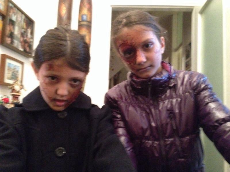 Happy halloween  make-up artist  Sara Favre
