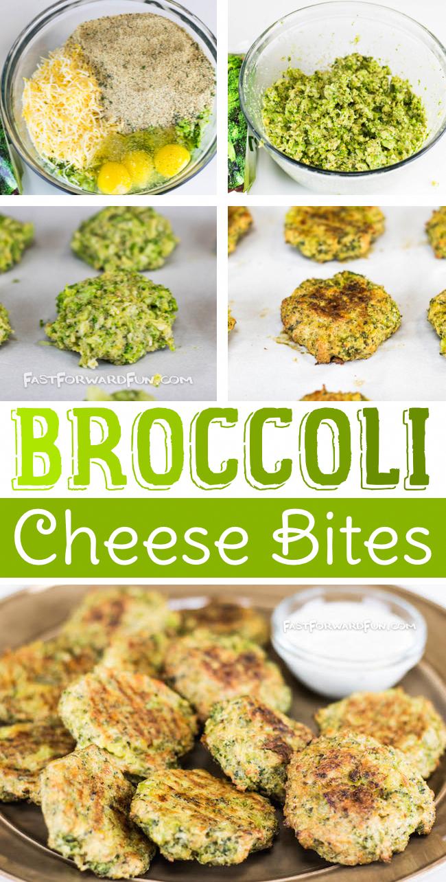 Broccoli Cheese Bites