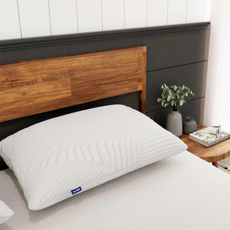 Alwyn Home Pioche Medium Gel Memory Foam Cooling Bed Pillow