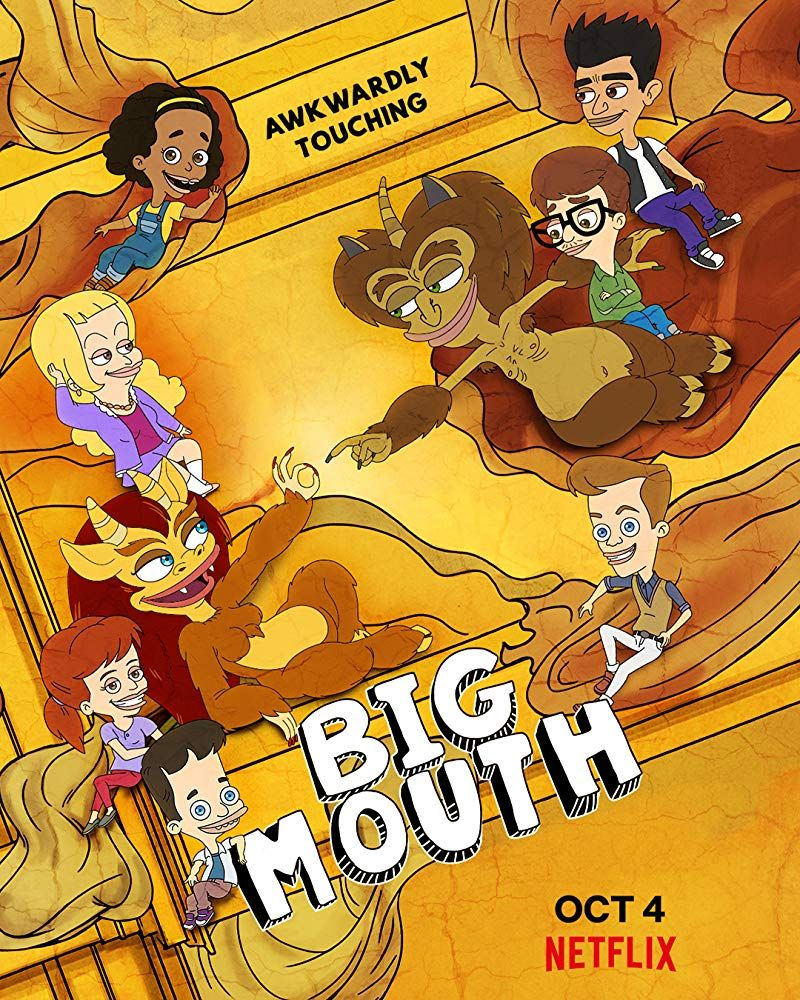 Big Mouth Big Mouth New Poster Big