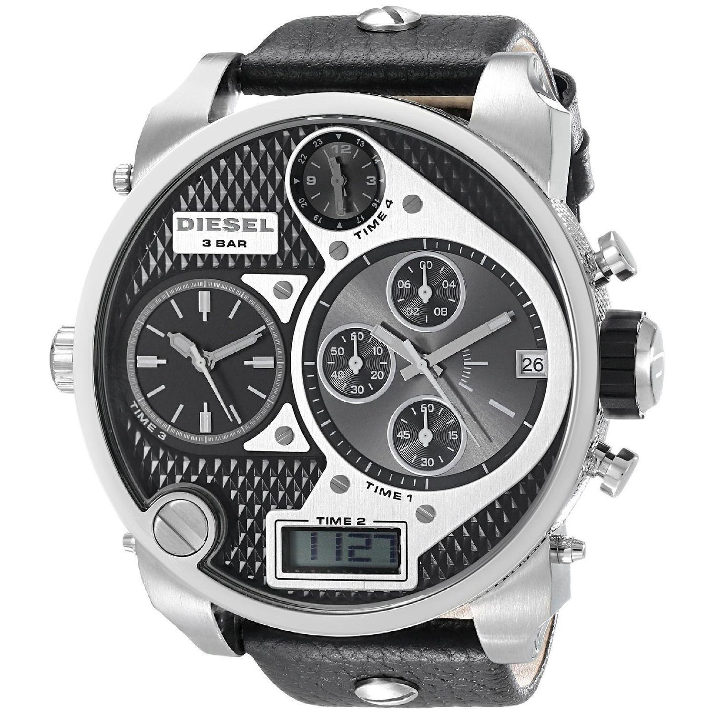 Diesel Men's DZ7125 Time Zone Watch | Overstock.com Shopping - Big Discounts on Diesel Men's Diesel Watches