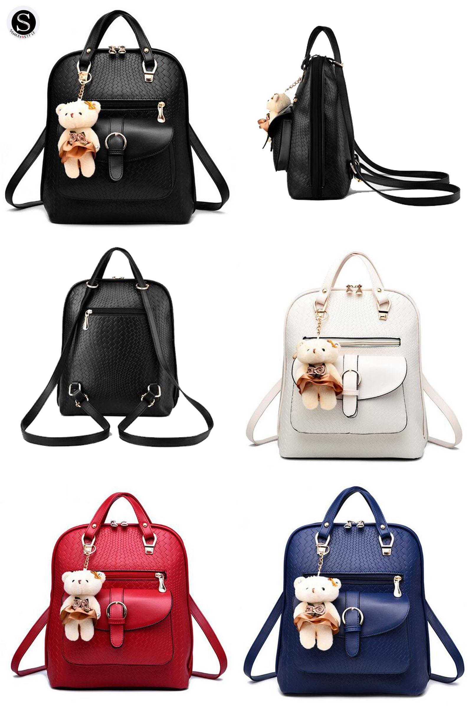 visit to senkey style women backpack 2017 famous brand school