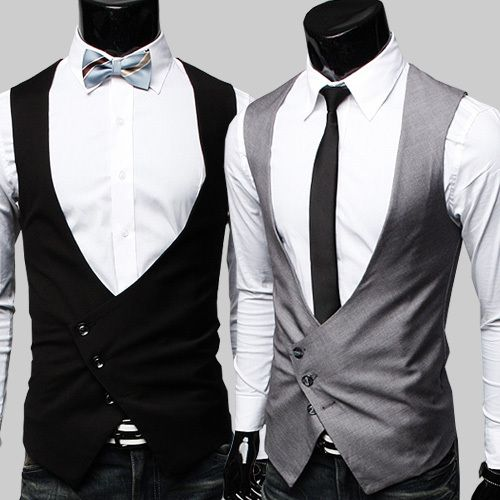 Modern Vest Mens Suit Vest Suits Men Business Men S Waistcoat