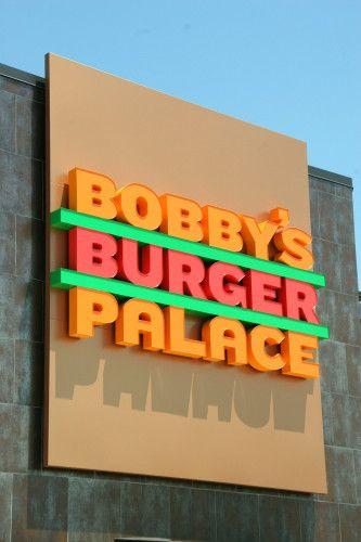 Bobby's Burger Palace Identity