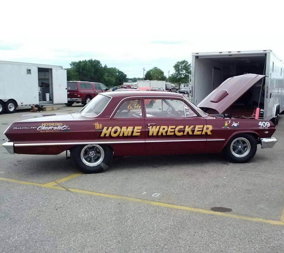 Cars and more chevy impala chevy impalas vehicles drag racing racing - 63 Belair Drag Car Drag Carshot Wheelsimpalahot Rodschevy