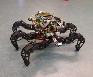 Spider Pig - Autonomous hexapod robot | Arduino/Robotics