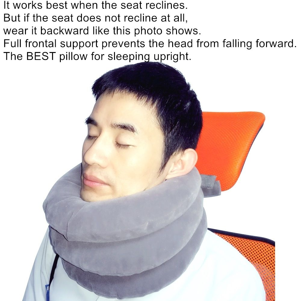 The Best Pillow For Sleeping Upright Best Pillows For Sleeping Travel Pillow Best Pillow