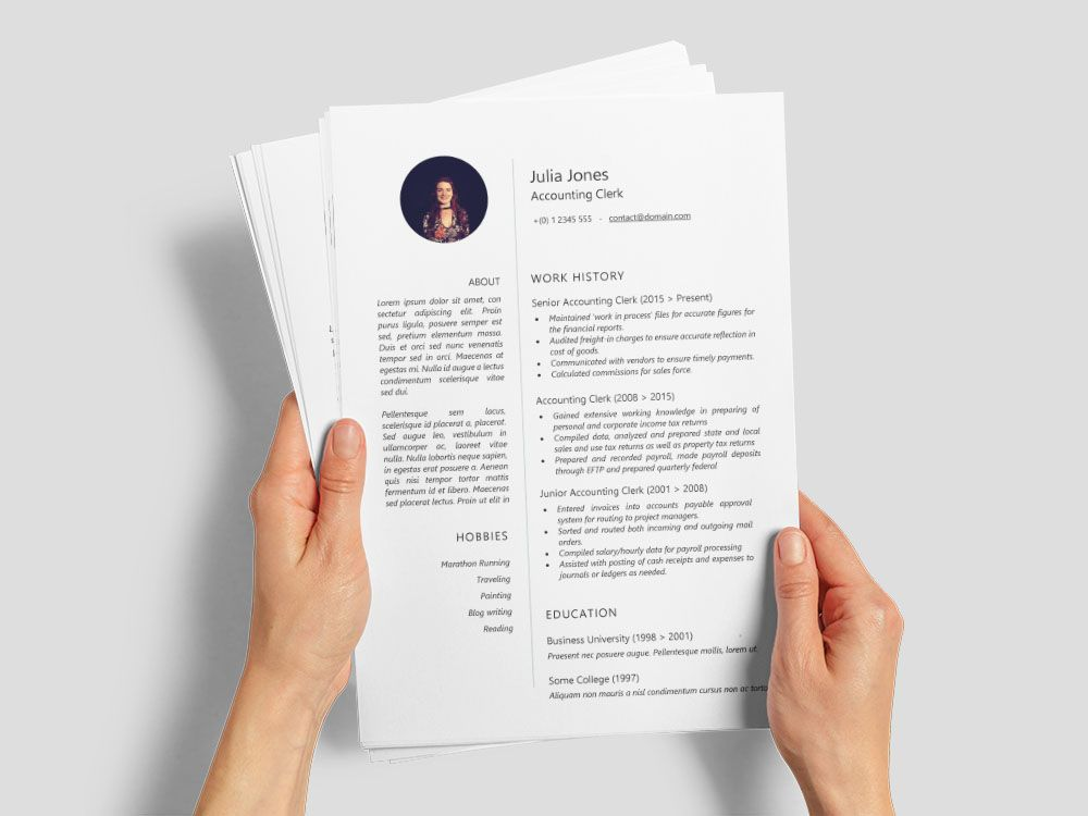Pin On Free Resume Templates