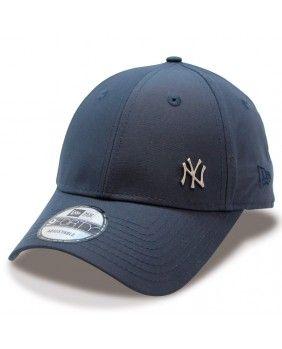 Gorra New York YANKEES Flawless Logo 9FORTY MLB New Era marino in ... d9d0db435ac