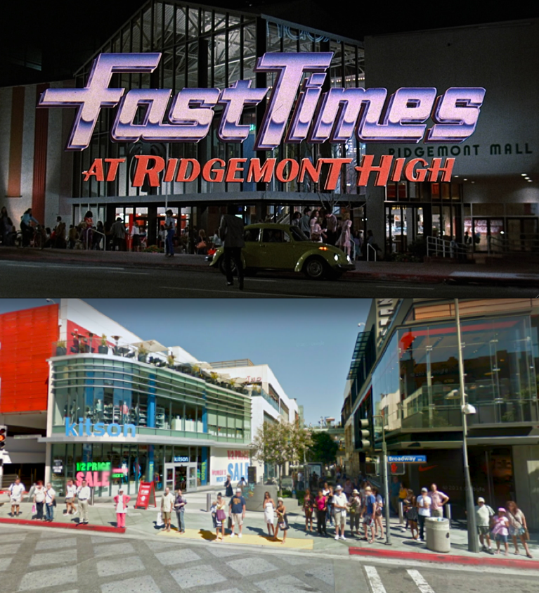 Fast Times at Ridgemont High (Exterior Only) Broadway and
