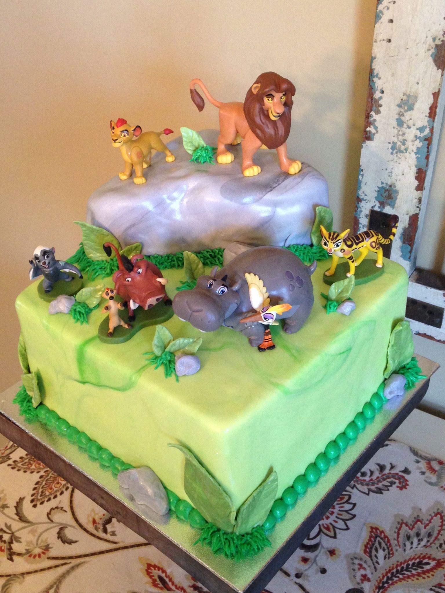 Lion Guard Cake ide gteau anniversaire Pinterest Lions